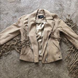 TIGHA suede jacket